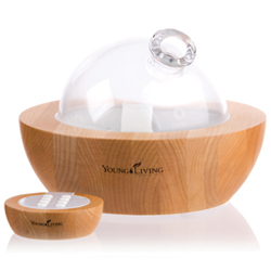Aria Ultrasonic Diffuser including soothing sounds and multicolor lights built in speakers